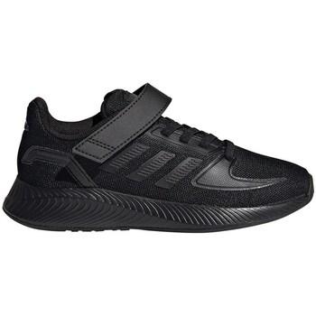 Schoenen Kinderen Running / trail adidas Originals Runfalcon 20 C Noir