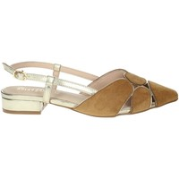 Schoenen Dames Sandalen / Open schoenen Gold & Gold GP83 Brown leather