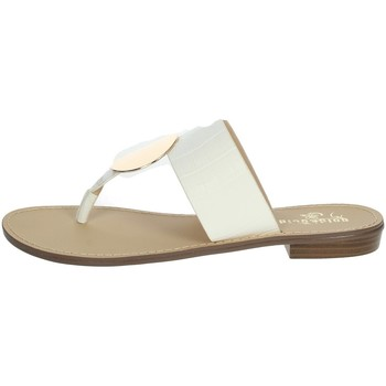 Schoenen Dames Slippers Gold & Gold GL632 White