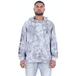Textiel Heren Sweaters / Sweatshirts Sixth June Sweatshirt  Custom Tie Dye gris anthracite/rose hibiscus