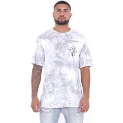 Textiel Heren T-shirts korte mouwen Sixth June T-shirt  Custom Tie Dye blanc/rose