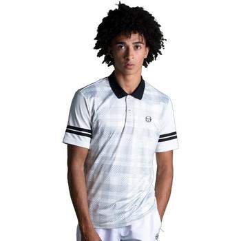 Textiel Heren Polo's korte mouwen Sergio Tacchini Polo  Allan white