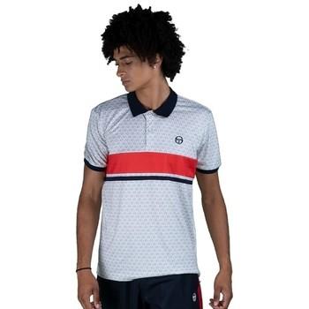 Textiel Heren Polo's korte mouwen Sergio Tacchini Polo  Ansley white/red