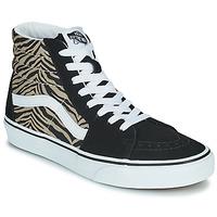 Schoenen Dames Hoge sneakers Vans SK8-HI Zwart / Safari