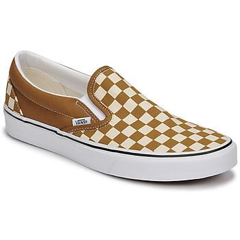 Schoenen Heren Instappers Vans CLASSIC SLIP ON Brown / Beige