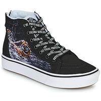 Schoenen Jongens Hoge sneakers Vans SK8-HI Zwart