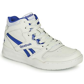 Schoenen Kinderen Hoge sneakers Reebok Classic BB4500 COURT Wit / Blauw