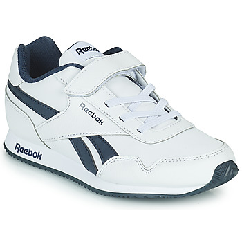 Schoenen Kinderen Lage sneakers Reebok Classic REEBOK ROYAL CLJOG Wit / Marine