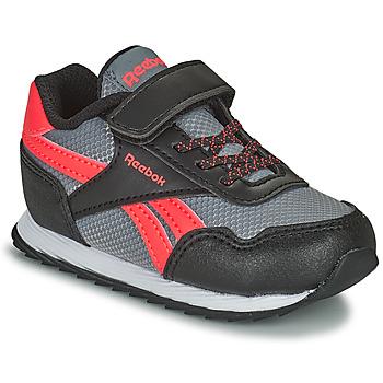 Schoenen Kinderen Lage sneakers Reebok Classic REEBOK ROYAL CLJOG Zwart / Rood