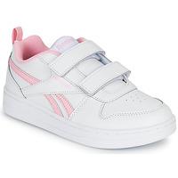 Schoenen Meisjes Lage sneakers Reebok Classic REEBOK ROYAL PRIME Wit / Roze