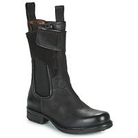 Schoenen Dames Laarzen Airstep / A.S.98 SAINTEC CHELS Zwart