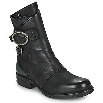 Schoenen Dames Laarzen Airstep / A.S.98 SAINTEC DOUBLE Zwart