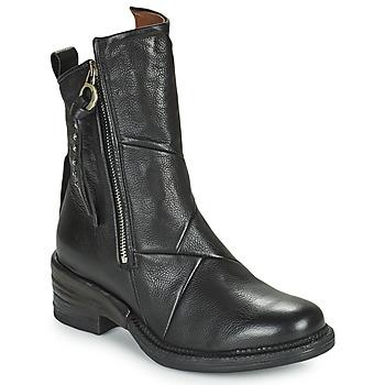 Schoenen Dames Laarzen Airstep / A.S.98 MIRACLE ZIP Zwart