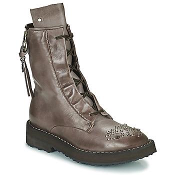 Schoenen Dames Laarzen Airstep / A.S.98 CHIMICA Brown