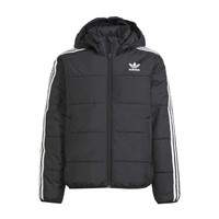 Textiel Kinderen Dons gevoerde jassen adidas Originals SOLITARE Zwart
