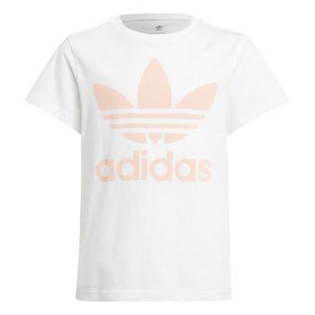 Textiel Kinderen T-shirts korte mouwen adidas Originals VAGUO Wit