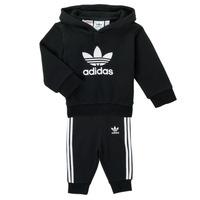 Textiel Kinderen Setjes adidas Originals TROPLA Zwart