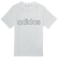 Textiel Jongens T-shirts korte mouwen adidas Performance ALBA Wit