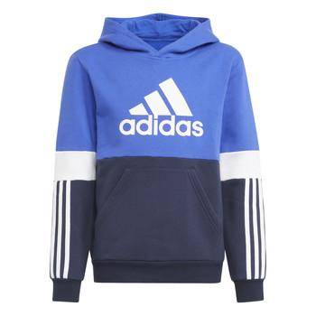 Textiel Jongens Sweaters / Sweatshirts adidas Performance NADJET Marine / Zwart