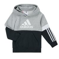 Textiel Jongens Sweaters / Sweatshirts adidas Performance CRAKA Grijs / Zwart