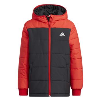 Textiel Kinderen Dons gevoerde jassen adidas Performance RACHELA Rood / Zwart