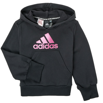 Textiel Meisjes Sweaters / Sweatshirts adidas Performance KINOM Zwart