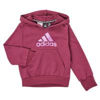 Textiel Meisjes Sweaters / Sweatshirts adidas Performance MARINE Roze
