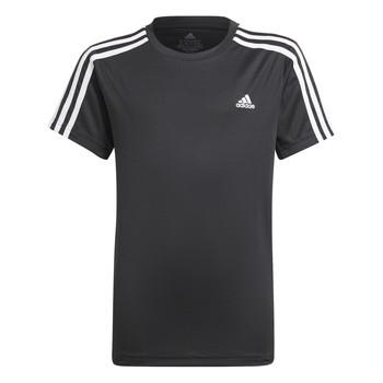 Textiel Jongens T-shirts korte mouwen adidas Performance MARIONA Zwart
