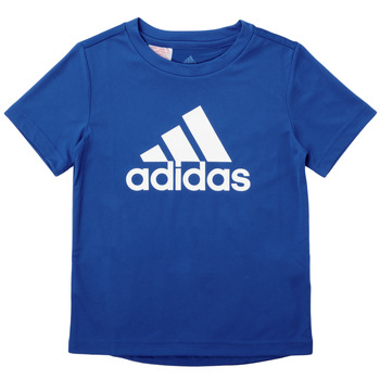 Textiel Jongens T-shirts korte mouwen adidas Performance CLAUDIA Blauw
