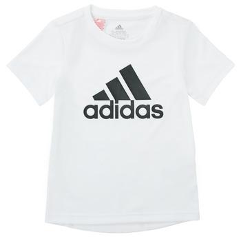 Textiel Jongens T-shirts korte mouwen adidas Performance NADEGE Wit