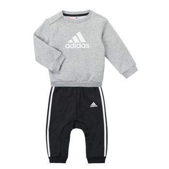 Textiel Jongens Setjes adidas Performance SONIA Grijs / Zwart