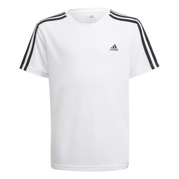 Textiel Jongens T-shirts korte mouwen adidas Performance AYMERICA Wit