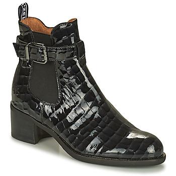 Schoenen Dames Laarzen Mam'Zelle LOPEZ Zwart