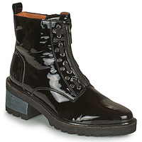 Schoenen Dames Laarzen Mam'Zelle QUITO Zwart
