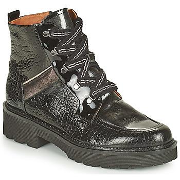 Schoenen Dames Laarzen Mam'Zelle ROLL Zwart