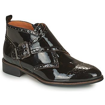 Schoenen Dames Laarzen Mam'Zelle SANTANA Zwart