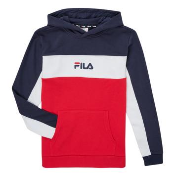 Textiel Jongens Sweaters / Sweatshirts Fila CAMILLA Rood / Marine
