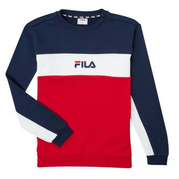 Textiel Jongens Sweaters / Sweatshirts Fila KAMILA Rood / Marine