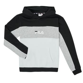 Textiel Meisjes Sweaters / Sweatshirts Fila POLLY Zwart / Grijs