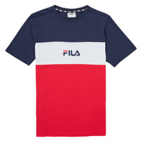 Textiel Meisjes T-shirts korte mouwen Fila TEKANI Rood / Marine