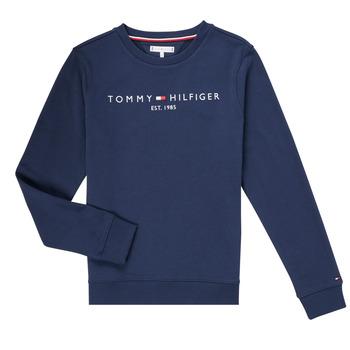 Textiel Jongens Sweaters / Sweatshirts Tommy Hilfiger TERRIS Marine