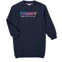 Textiel Meisjes Korte jurken Tommy Hilfiger BELISTA Marine