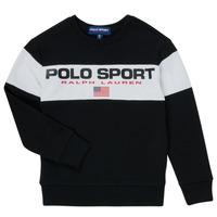 Textiel Jongens Sweaters / Sweatshirts Polo Ralph Lauren SIMEON Zwart
