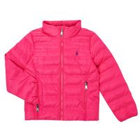 Textiel Meisjes Dons gevoerde jassen Polo Ralph Lauren DERNIN Roze