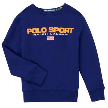 Textiel Jongens Sweaters / Sweatshirts Polo Ralph Lauren SENINA Marine