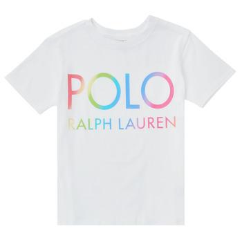 Textiel Jongens T-shirts korte mouwen Polo Ralph Lauren FERILO Wit