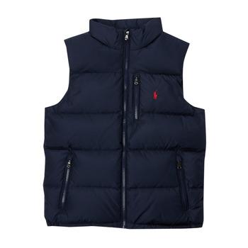 Textiel Jongens Dons gevoerde jassen Polo Ralph Lauren SOLEDDA Marine