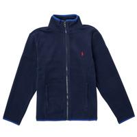 Textiel Meisjes Fleece Polo Ralph Lauren TOLIPA Marine