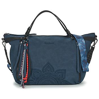 Tassen Dames Handtassen kort hengsel Desigual AQUILES LIBIA Blauw