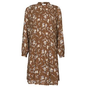 Textiel Dames Korte jurken Esprit PER CHIFFON PRI Brown